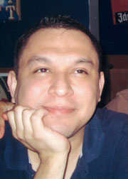 Richard Hernandez, butchered in his apartment bathroom