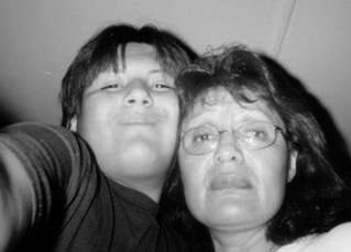 F.C. and his mom, Pauline Mitchell
