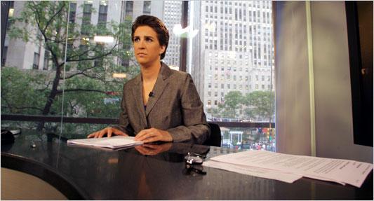 Rachel Maddow, MSNBC News Commentator