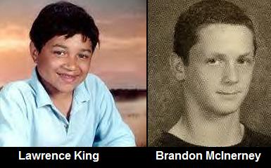 Lawrence King and Brandon McInerney