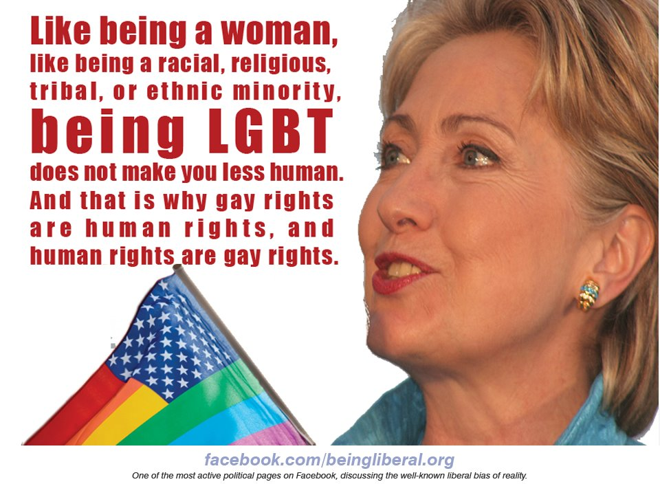 Is hillary clinton bi sexual orientation