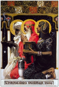 """Magi,"" J.C. Leyendecker, 1900."
