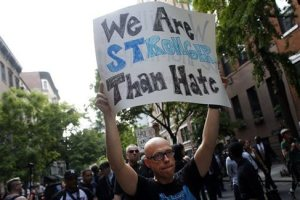 New Yorkers refuse to be terrorized by spate of anti-gay hate crimes.