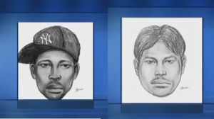 Police sketches of Brooklyn subway gay basher and Queens suspect who attacked a woman while shouting anti-gay slurs.