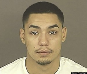 Tilo Sandoval, charged with bias motivated hate crime against Olson.