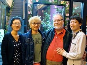 L to R: Dr. Namsoon Kang, Kim Jho Kwang-soo, Dr. Stephen Sprinkle, Kim Seung-hwan.