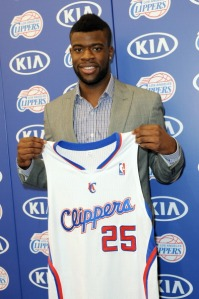 Transgender murder victim Mia Henderson, 26, was the sister of Los Angeles Clippers player Reggie Bullock, pictured here.