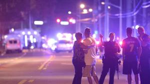 Worst mass shooting in U.S. History in Orlando at Pulse Gay Club. AP photo by M. Ebenhack.